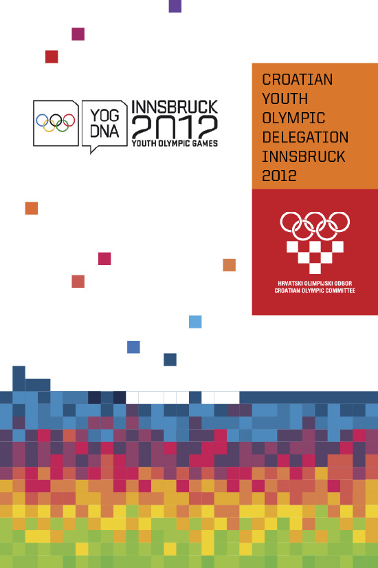 Croatian Youth Olympic Games delegation Innsbruck 2012 / ed. Radica Jurkin | Jurkin, Radica