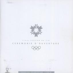 Opening ceremony : 113th IOC Session : Abranavel Hall, Salt Lake City, Utah, 3 February 2002 = Cérémonie d'ouverture : 113ème session du CIO : Abranavel Hall, Salt Lake City, Utah, 3 février 2002 / Salt Lake Organizing Committee | Jeux olympiques d'hiver. Comité d'organisation. 19, 2002, Salt Lake City