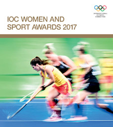 IOC women and sport awards 2017 / International Olympic Committee | Comité international olympique
