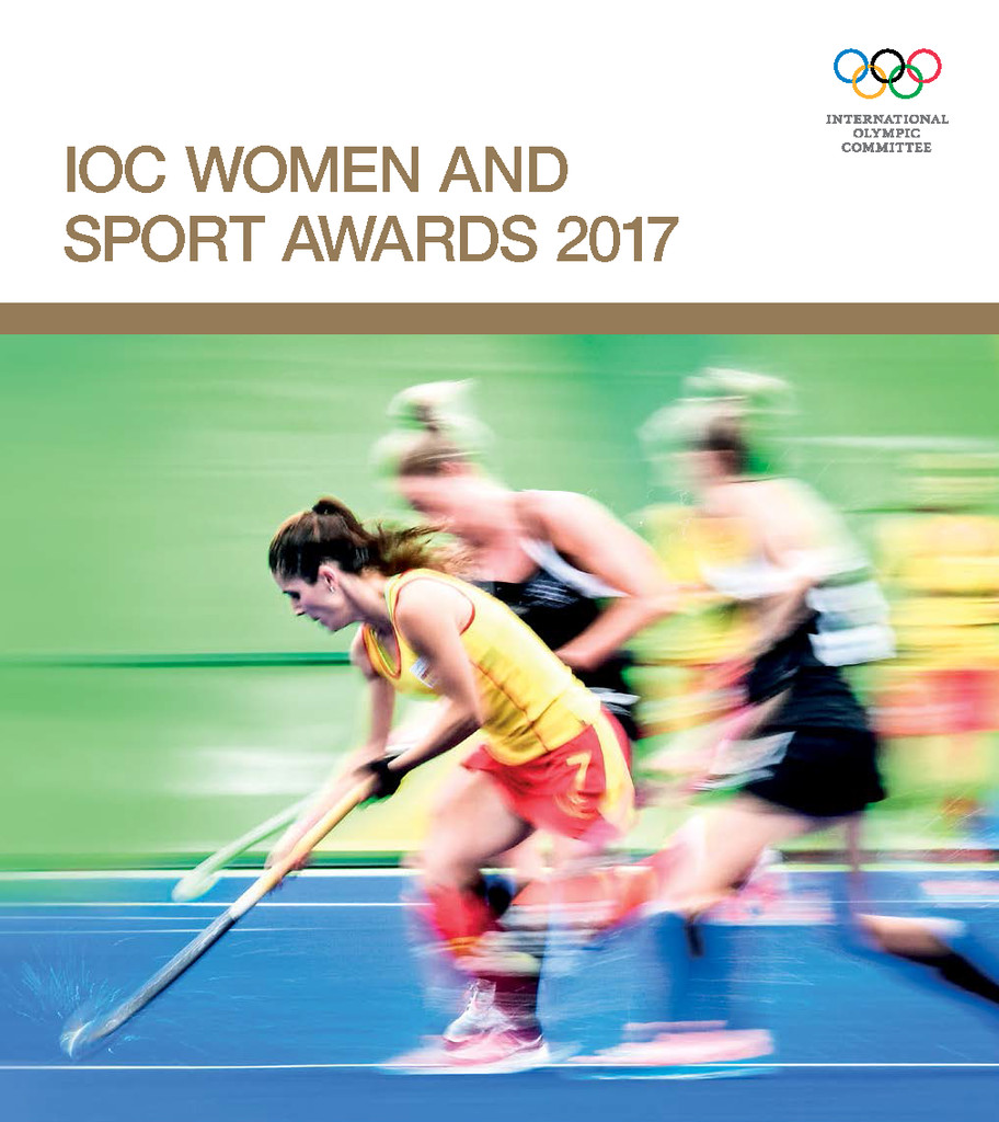 IOC women and sport awards 2017 / International Olympic Committee | International Olympic Committee