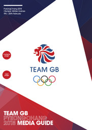 Team GB media guide : PyeongChang 2018 / British Olympic Association | British Olympic Association
