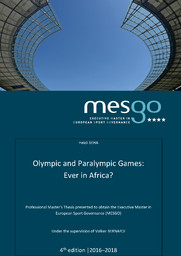 Olympic and Paralympic Games : ever in Africa ? / Heidi Beha | Beha, Heidi
