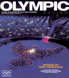 Olympic review : official publication of the Olympic Movement. Vol. 106, January-February-March 2018  