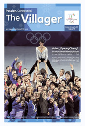The villager : PyeongChang 2018 / The PyeongChang Organizing Committee for the 2018 Olympic & Paralympic Winter Games  | Jeux olympiques d'hiver. Comité d'organisation. 23, 2018, PyeongChang