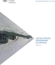 L'évolution du programme olympique / Le Centre d'Etudes Olympiques | The Olympic Studies Centre