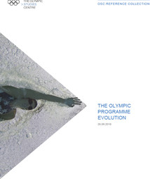 The Olympic programme evolution / The Olympic Studies Centre | The Olympic Studies Centre