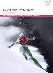 Host city contract principles : XXV Olympic Winter Games : candidature process 2026 / International Olympic Committee | Comité international olympique