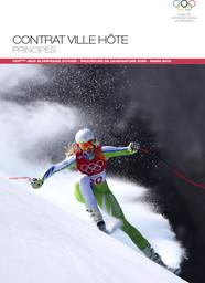 Contrat ville hôte principes : XXVèmes Jeux Olympiques d'hiver : procédure de candidature 2026 / Comité International Olympique   International Olympic Committee