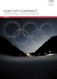 Host city contract : operational requirements / International Olympic Committee | International Olympic Committee