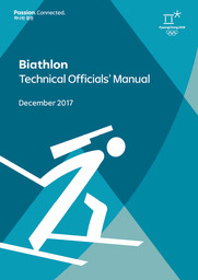 Technical officials' manual : PyeongChang 2018 / The PyeongChang Organising Committee for the XXIII Olympic Winter Games | Jeux olympiques d'hiver. Comité d'organisation. 23, 2018, PyeongChang