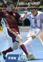 Regulations : Youth Olympic futsal tournaments Buenos Aires 2018 / Fédération Internationale de Football Association | Fédération internationale de football association