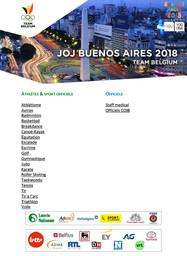 Team Belgium : JOJ Buenos Aires 2018 / Comité Olympique et Interfédéral Belge | Comité olympique et interfédéral belge