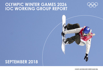 Olympic Winter Games 2026 : IOC working group report / International Olympic Committee | Comité international olympique