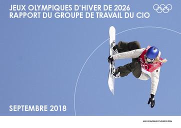 Jeux Olympiques d'hiver de 2026 : rapport du groupe de travail du CIO / Comité International Olympique | International Olympic Committee