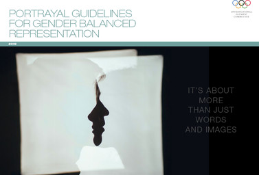 Portrayal guidelines for gender balanced representation / International Olympic Committee | International Olympic Committee
