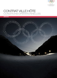 Contrat ville hôte : conditions opérationnelles / Comité International Olympique | International Olympic Committee