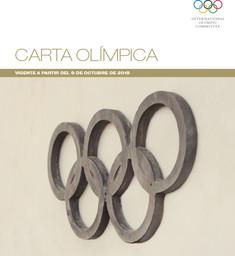 Carta olímpica : vigente a partir del 9 de octubre de 2018 / Comité Olímpico Internacional | Comité international olympique