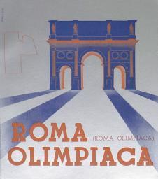 Roma Olimpiaca / CONI   Comitato olimpico nazionale italiano