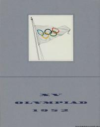Greetings from the Detroit Olympic Committee : an invitation to the International Olympic Committee to celebrate the XV Olympiad at Detroit in 1952 / The Detroit Olympic Committee | Detroit Olympic Committee