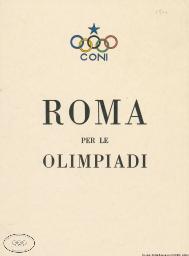 Roma per le Olimpiadi / Comité Olympique National Italien | Comitato olimpico nazionale italiano