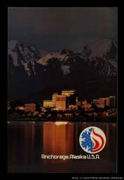 Anchorage, Alaska USA / Anchorage Organizing Committee for the 1992 | Comité d'organisation d'Anchorage pour les Jeux Olympiques d'hiver de 1992
