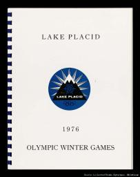 Ski facilities at Lake Placid as prepared for International Olympic Committee |