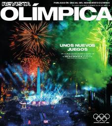 Revista olímpica : órgano oficial del Movimiento olímpico. Vol. 109, Octubre-Noviembre-Diciembre 2018  