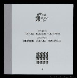 Athens '96 / Executive Committee for the Candidacy of Athens for the 1996 Olympic Games | Comité exécutif pour la candidature d'Athènes aux Jeux olympiques de 1996
