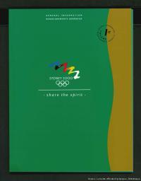 Sydney 2000 : share the spirit / Sydney Olympics 2000 Bid Ltd | Sydney Olympics 2000 Bid