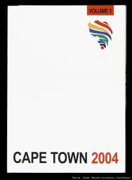 Cape Town 2004 = candidature de la ville du Cap Town aux Jeux Olympiques de 2004 : the Cape Town 2004 Olympic bid / Cape Town 2004 Olympic Bid   Cap Bid Committee for the Olympic Winter Games 2004
