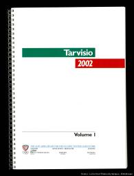 Tarvisio 2002 : the Alpe Adria heart for the Olympic Winter Games in 2002 / Tarvisio 2002 Bidding Committee | Tarvisio 2002 Bidding Committee