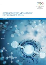 Carbon footprint methodology for the Olympic Games / International Olympic Committee | Comité international olympique