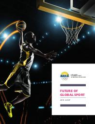 Future of global sport : 2019 / Association of Summer Olympic International Federations | Association des fédérations internationales olympiques d'été