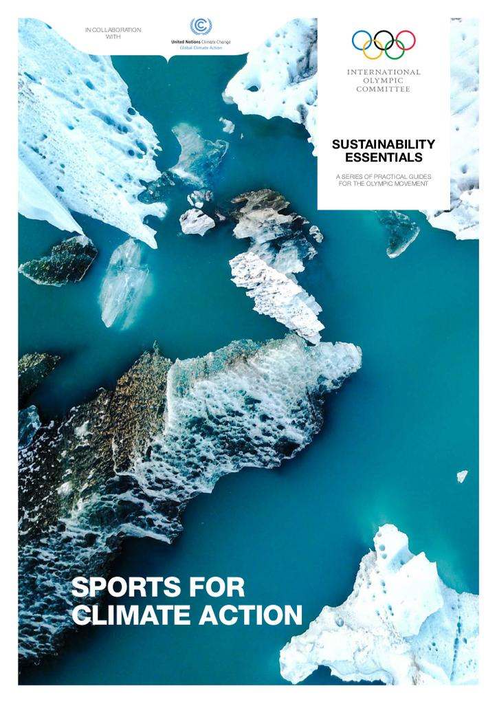 Sports for climate action / International Olympic Committee | International Olympic Committee