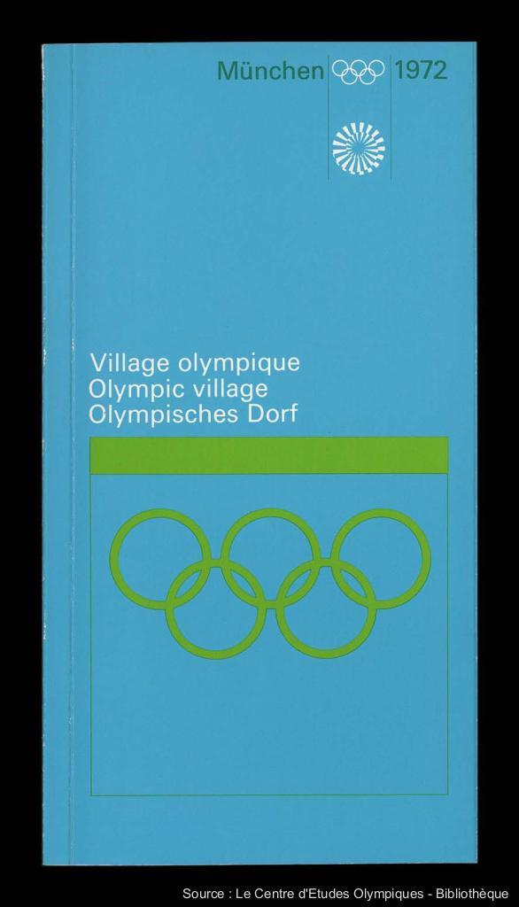 Village Olympique : München 1972 = Olympisches Dorf : München 1972 = Olympic village : München 1972 / [éd. par Organisationskomitee für die Spiele der XX. Olympiade München 1972] ; [réd. Henning Bath] | Bath, Henning