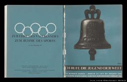 Guide book to the celebration of the XIth Olympiad Berlin 1936 = Ich rufe die Jugend der Welt / Organisationskomitee für die XI. Olympiade Berlin 1936 ; [studio Friedrich Böer, Ernst Graef] | Böer, Friedrich