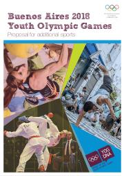 Proposal for additional sports : Buenos Aires 2018 Youth Olympic Games / International Olympic Games | International Olympic Committee