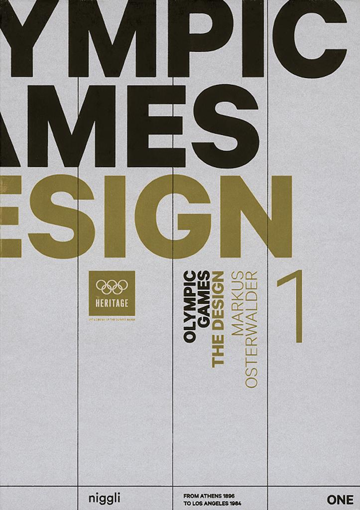 Olympic Games : the design : from Athens 1896 to Tokyo 2020 / Markus Osterwalder | Osterwalder, Markus