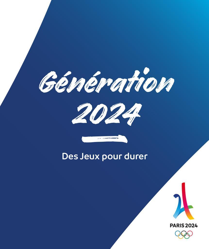 Génération 2024 : des Jeux pour durer / Comité d'organisation des Jeux Olympiques et Paralympiques de Paris 2024 | Summer Olympic Games. Organizing Committee. 33, Paris, 2024