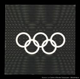Programme artistique et culturel des Jeux de la XIX Olympiade / [Comité Organizador de los Juegos de la XIX Olimpiada] | Summer Olympic Games. Organizing Committee. 19, 1968, Mexico