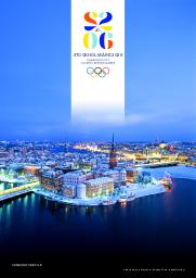 Candidature file : Stockholm Åre 2026 / Stockholm Åre 2026 Candidate City Olympic Winter Games | Stockholm Åre 2026 Candidate City Olympic Winter Games