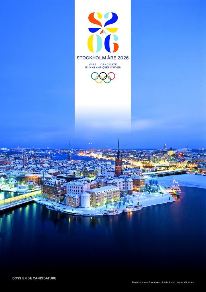 Dossier de candidature : Stockholm Åre 2026 : ville candidate Jeux Olympiques d'hiver / Stockholm Åre 2026 | Stockholm Åre 2026