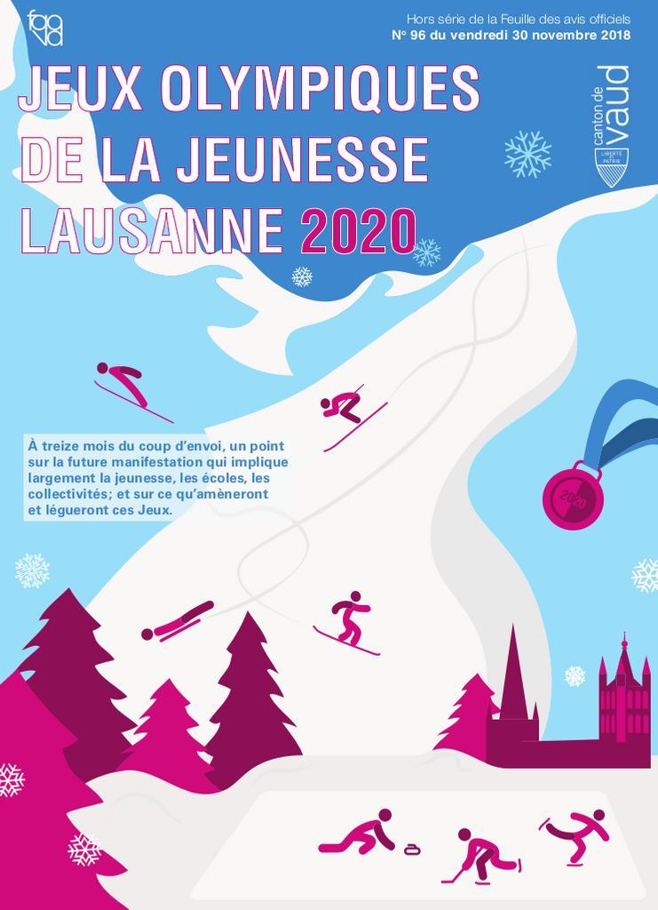 Jeux Olympiques de la Jeunesse : Lausanne 2020 / Canton de Vaud | Canton de Vaud