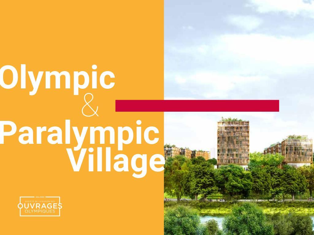 Olympic & Paralympic village / Solidéo | Solidéo
