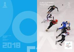 """Olympic scholarships for athletes """"PyeongChang 2018"""" : final report / Olympic Solidarity 