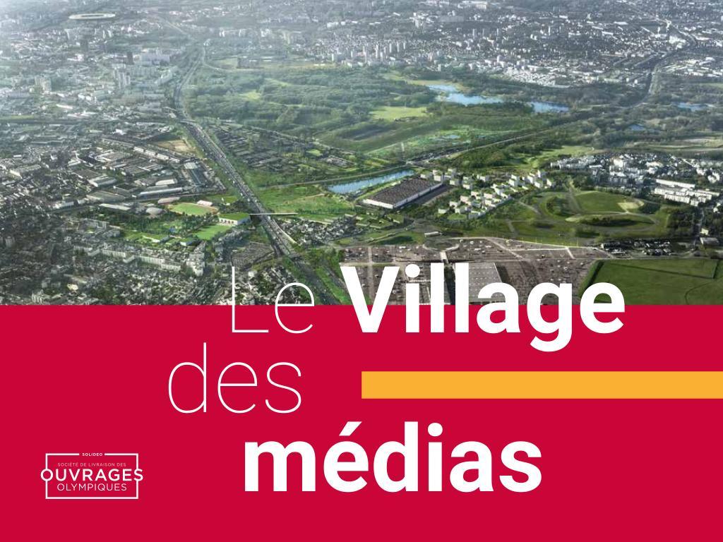 Le village des médias / Solidéo   Solidéo