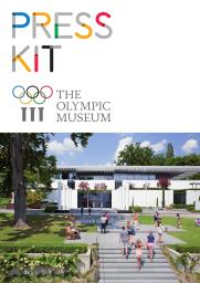 Press kit / The Olympic Museum | Musée olympique (Lausanne)