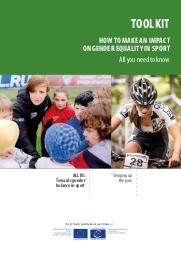 Toolkit : how to make an impact on gender equality in sport : all you need to know / Council of Europe   Conseil de l'Europe