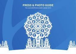 Press & photo guide : the 2nd European Games Minsk 2019 / Minsk 2019 European Games Operations Committee | Minsk 2019 European Games Operations Committee
