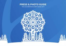 Press & photo guide : the 2nd European Games Minsk 2019 / Minsk 2019 European Games Operations Committee | Minsk 2019 European Games Operations Committee